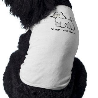 Cartoon Standard/Miniature/Toy Poodle Shirt