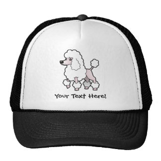 Cartoon Standard/Miniature/Toy Poodle (show cut) Cap