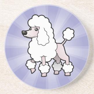 Cartoon Standard/Miniature/Toy Poodle (show cut) Coaster