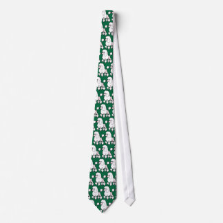 Cartoon Standard/Miniature/Toy Poodle (show cut) Tie