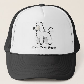 Cartoon Standard/Miniature/Toy Poodle Trucker Hat