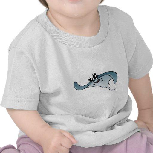 Cartoon Stingray Shirt