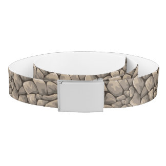 Cartoon Stone Texture Belt