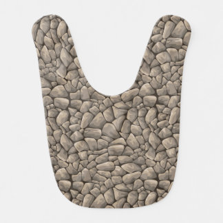 Cartoon Stone Texture Bib