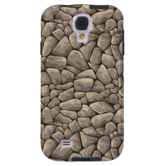 Cartoon Stone Texture Galaxy S4 Case