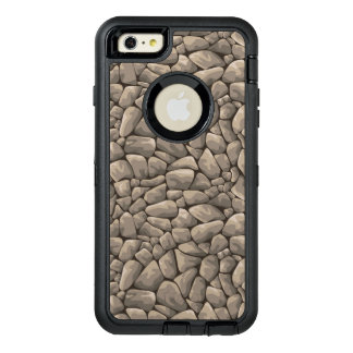 Cartoon Stone Texture OtterBox Defender iPhone Case
