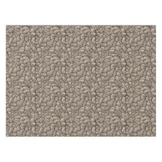 Cartoon Stone Texture Tablecloth