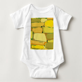 Cartoon Stone Wall Baby Bodysuit