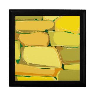 Cartoon Stone Wall Gift Box