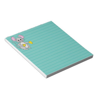 Cartoon Style Mouse Notepads