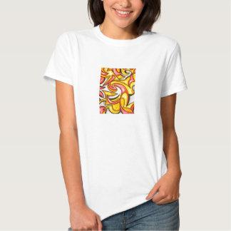 Cartoon Swirl - Abstract Art Tshirt