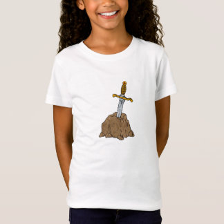 cartoon sword in stone T-Shirt