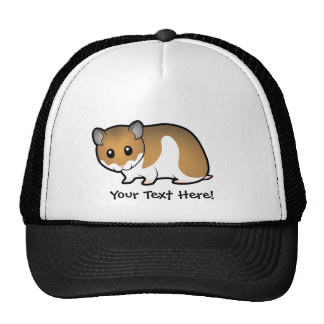 Cartoon Syrian Hamster Cap