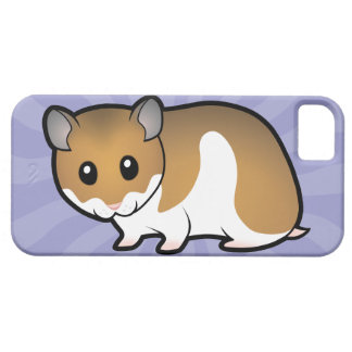 Cartoon Syrian Hamster Case For The iPhone 5