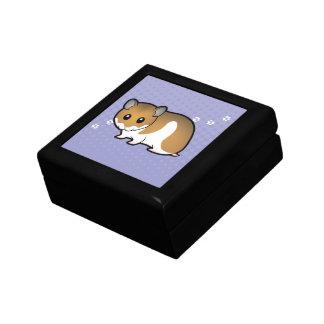 Cartoon Syrian Hamster Gift Box
