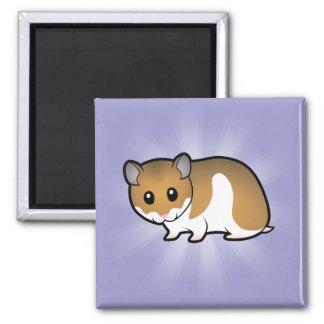 Cartoon Syrian Hamster Magnet