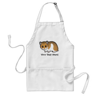 Cartoon Syrian Hamster Standard Apron
