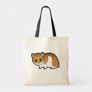 Cartoon Syrian Hamster Tote Bag