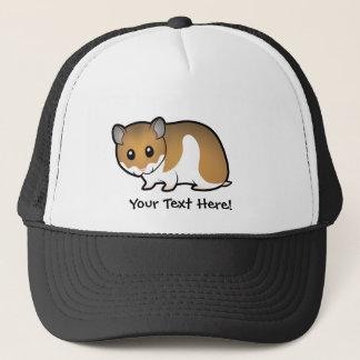 Cartoon Syrian Hamster Trucker Hat