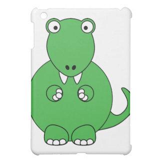 Cartoon T-Rex green iPad Mini Cover