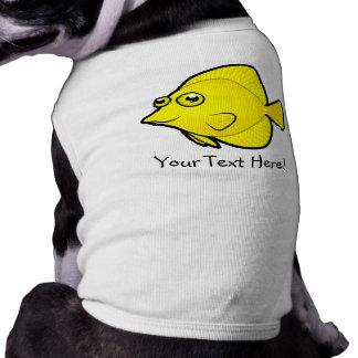 Cartoon Tang 1 Sleeveless Dog Shirt