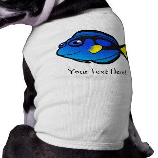 Cartoon Tang 2 Sleeveless Dog Shirt