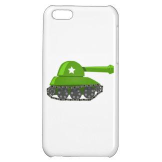 Cartoon Tank Case For iPhone 5C