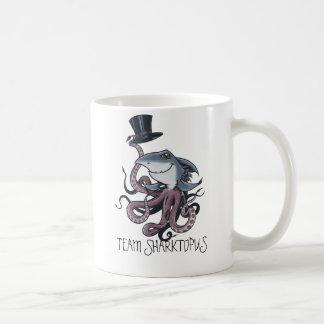 Cartoon Team Sharktopus Mug