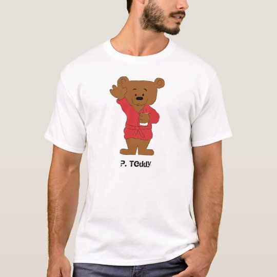 Cartoon Teddy Bear P Diddy Fan T-Shirt