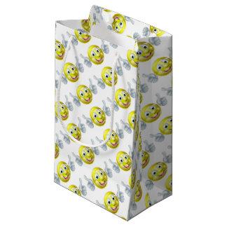 Cartoon Tennis Ball Character Small Gift Bag