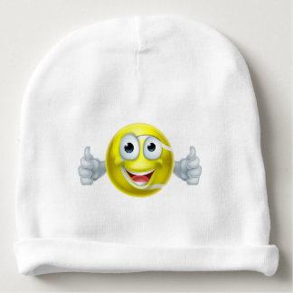 Cartoon Tennis Ball Thumbs Up Man Character Baby Beanie