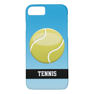 Cartoon Tennis Ball With Custom Text iPhone 8/7 Case