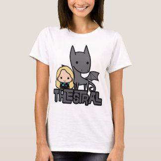 Cartoon Thestral and Luna Character Art T-Shirt