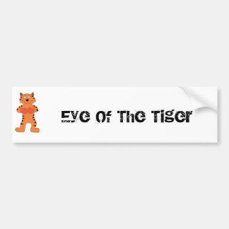 Cartoon Tiger Boxer Bumper Stickers