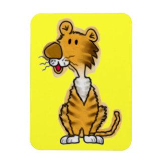 Cartoon Tiger Vinyl Magnets