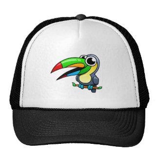 Cartoon Toucan Mesh Hat
