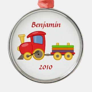Cartoon Train Ornament
