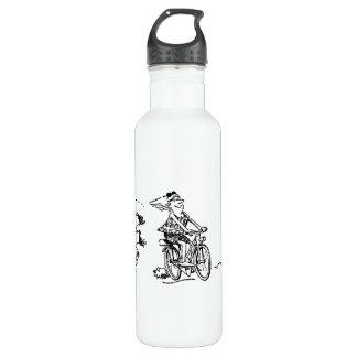 Cartoon Triathlon 710 Ml Water Bottle