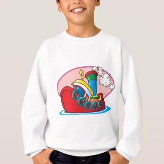 Cartoon Tugboat Sweatshirt