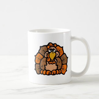 Cartoon Turkey Coffee Mug
