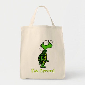 Cartoon Turtle Tote Bag