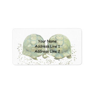 Cartoon Turtles Avery Address Label