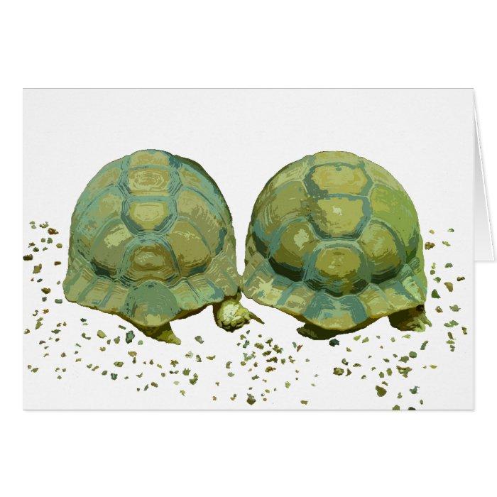 Cartoon Turtles Card