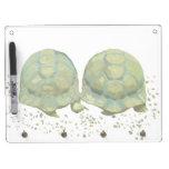Cartoon Turtles Dry Erase Board