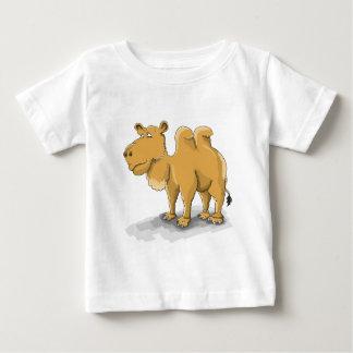 Cartoon Two hump camel walking in the desert Baby T-Shirt