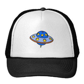 Cartoon UFO Flying Saucer Cap