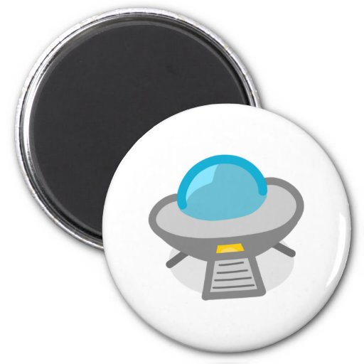 Cartoon UFO Magnet