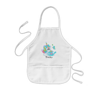 Cartoon Unicorn add name apron