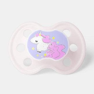 cartoon unicorn with stars cute Pacifier