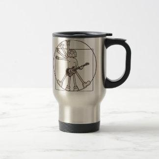 Cartoon Vitruvian Rocker Mug